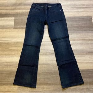 🆕Levi's 553 Bootcut Jeans Dark Blue Wash